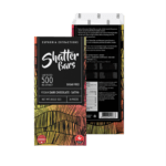 Vegan Dark Chocolate Sativa 500mg Shatter Bar