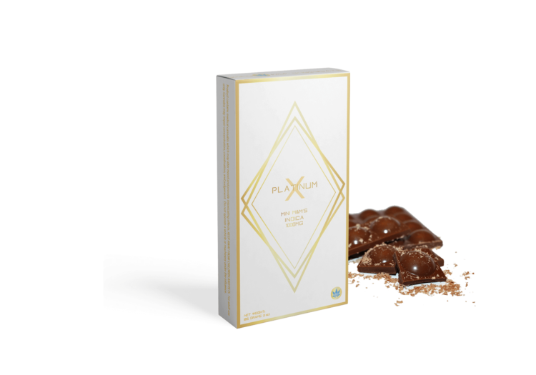 MINI M&M's CHOCOLATE 1000MG INDICA - PlatinumX