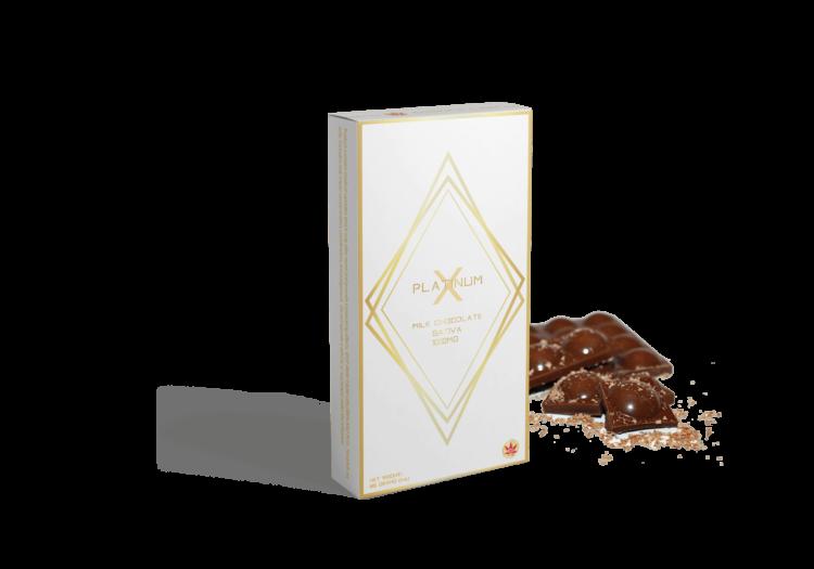 MILK CHOCOLATE 1000MG SATIVA - PlatinumX