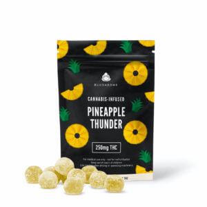 pineapple-thunder-gummies buudabomb